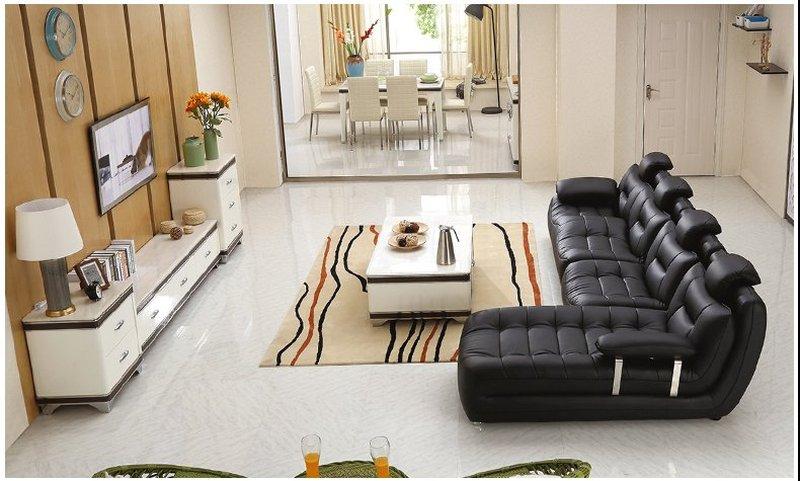 Bộ ghế sofa bọc da hiện đại cao cấp sang trọng SF001 8