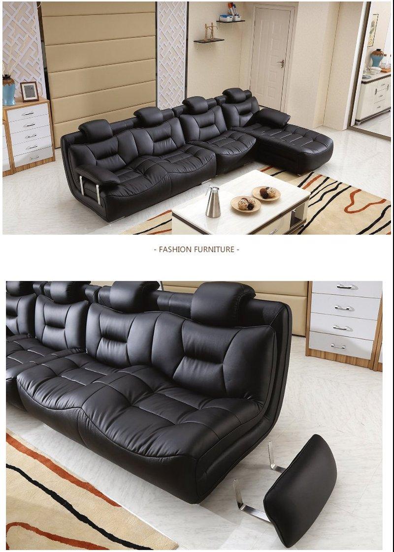 Bộ ghế sofa bọc da hiện đại cao cấp sang trọng SF001 9