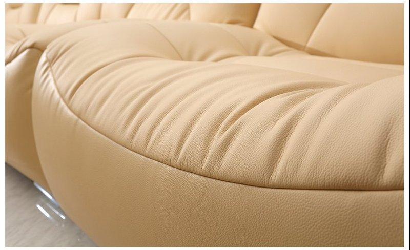 Bộ ghế sofa bọc da hiện đại cao cấp sang trọng SF001 2