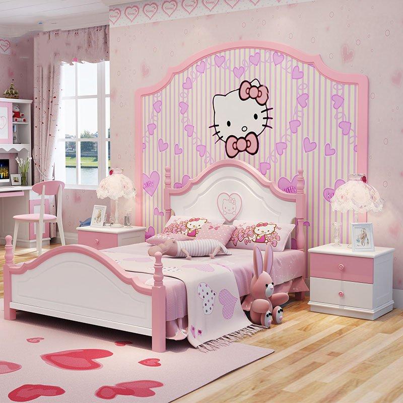 Giường ngủ cho bé đẹp GTE003