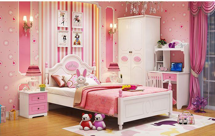 Trọn bộ nội thất công chúa cho bé gái GTE008