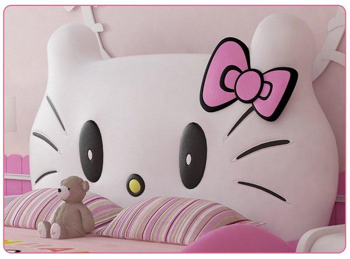 Đầu giường hello kitty cho bé bọc da cao cấp