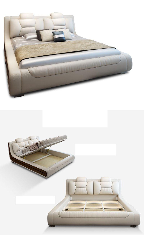 Giường hiện đại bọc da cao cấp sang trọng GN006 8