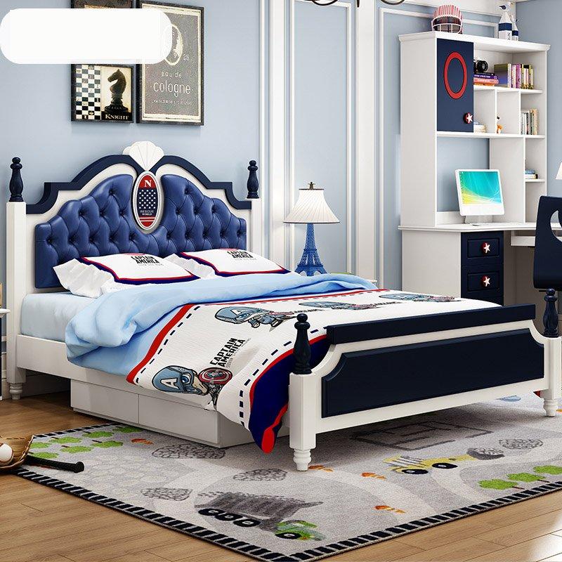 Giường ngủ cho bé kiểu châu âu GTE002