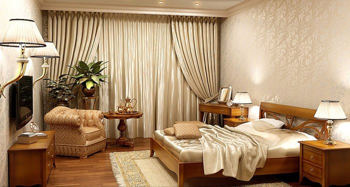 Giường ngủ đẹp hiện đại