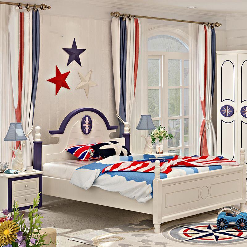 Giường ngủ cho bé lá cờ nước Anh GTE007