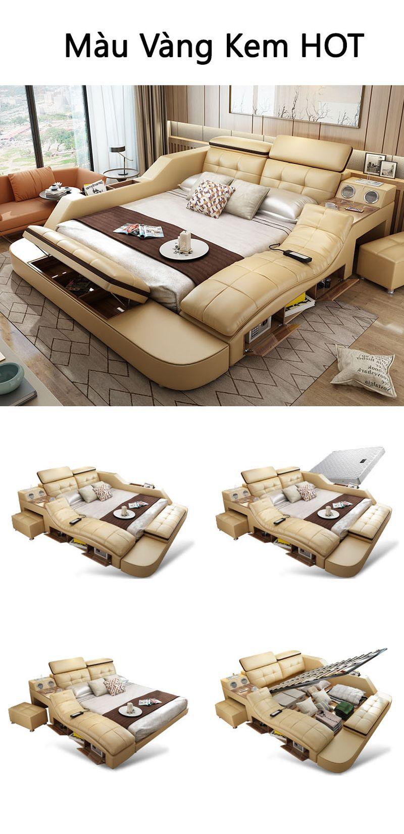 Kiểu dáng giường đa năng thông minh tatami kiểu nhật GN004