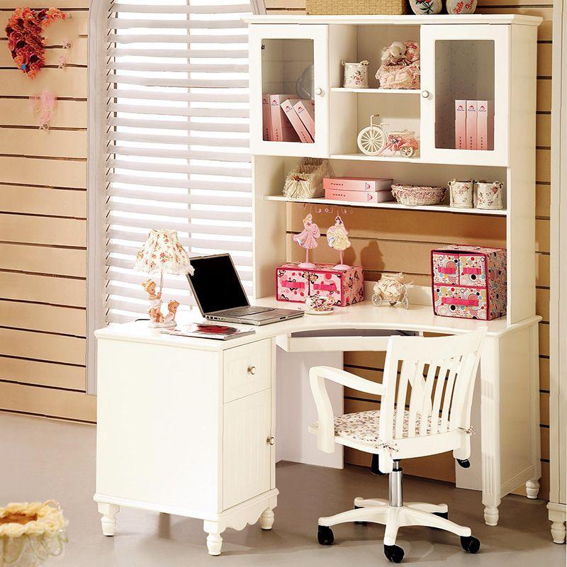 Bộ bàn ghế học cho bé màu trắng đẹp BH009 1
