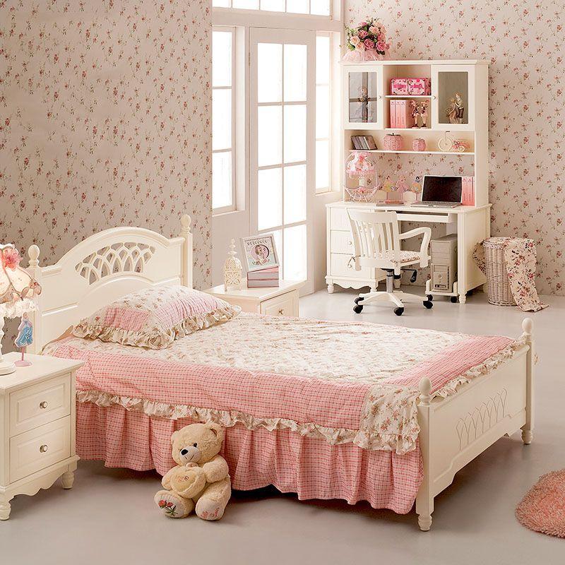 Giường ngủ công chúa đẹp GTE009