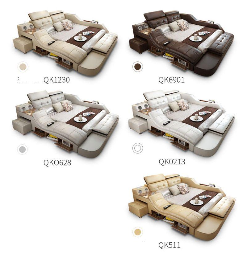 Màu sắc giường đa năng thông minh tatami kiểu nhật GN004