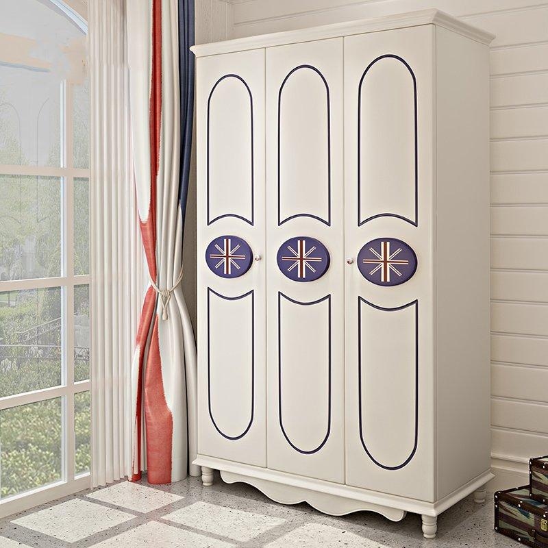 Tủ quần áo cho bé phong cách Châu Âu TTE007