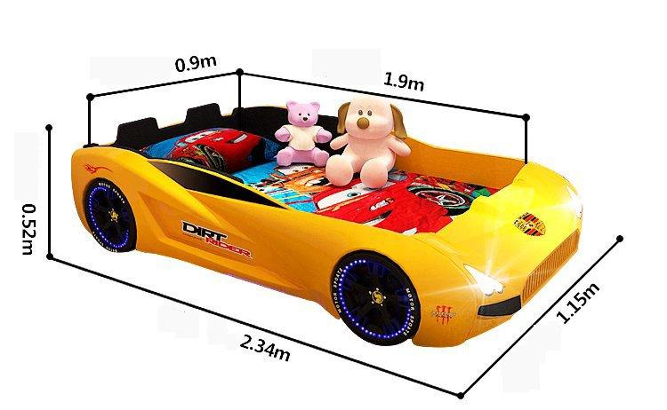 Kích cỡ giường thể thao cho bé GTE065
