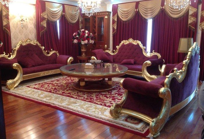 Bàn ghế sofa tân cổ điển xưởng thạch thất Hà Nội