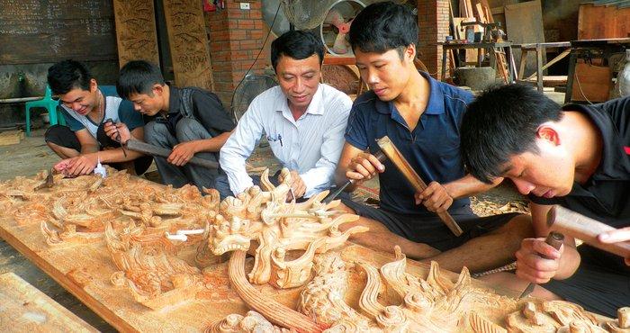 Nội thất sản xuất tại làng Thạch Thất Hà Nội