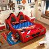 Giường ô tô cho bé trai đẹp nhập khẩu GTE079 màu đỏ