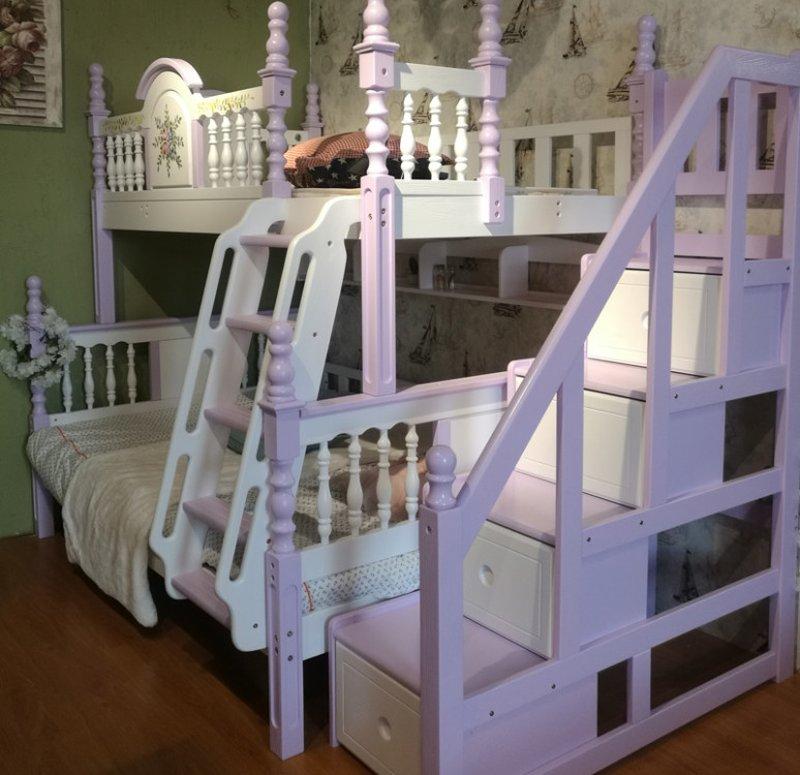 Giường tầng cao cấp trẻ em GTE053 4
