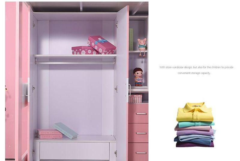 Giường tầng đa năng thông minh có tủ quần áo + bàn học GTE054 7