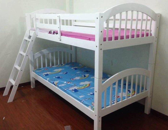 Giường tầng giá rẻ kiểu dáng đơn giản