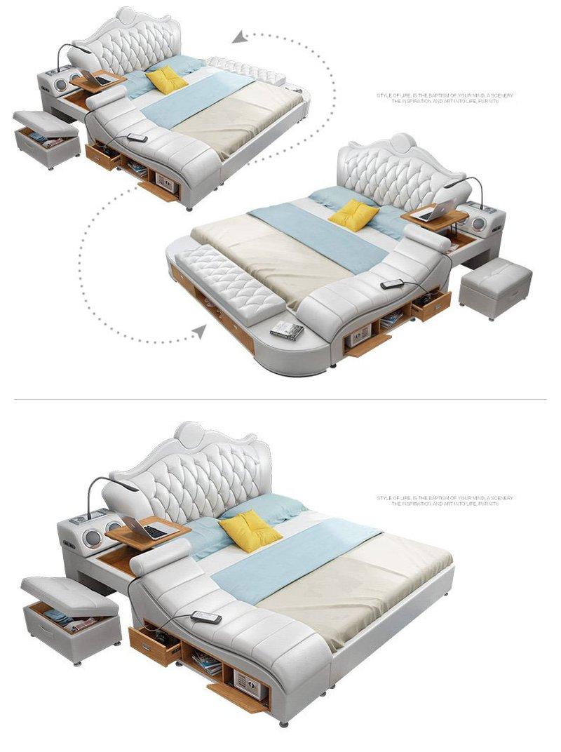 Kiểu dáng giường được sắp xếp tùy theo khách hàng