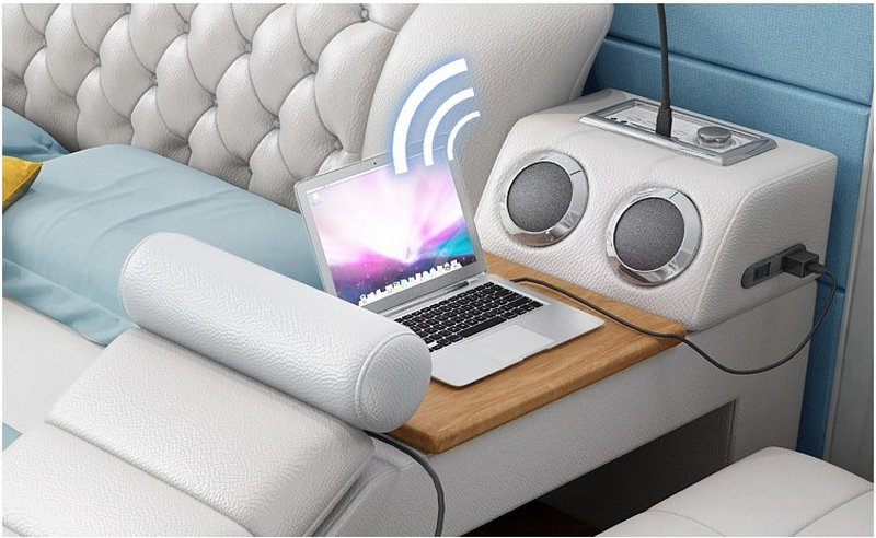 Loa nghe chất lượng kết nối qua USB, Bluetooth