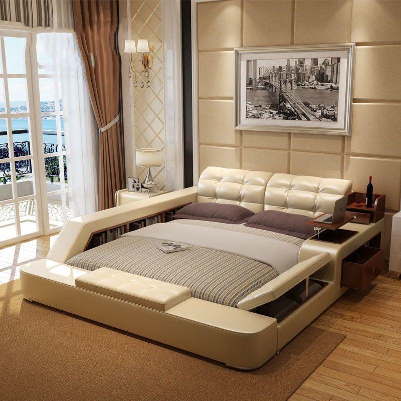 Giường tatami kiểu nhật hiện đại sang trọng đa năng GN001