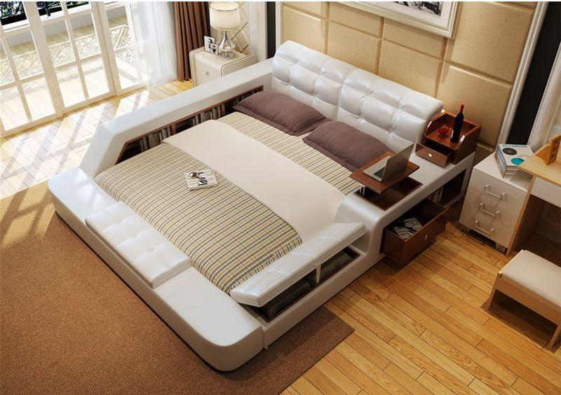 Giường tatami kiểu nhật hiện đại sang trọng đa năng GN001 2