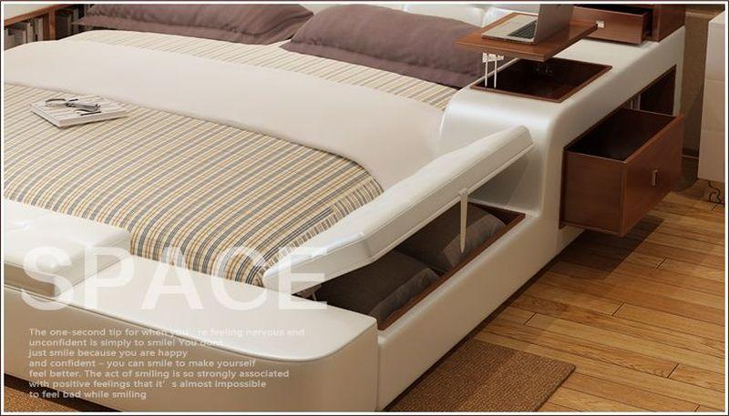 Giường tatami kiểu nhật hiện đại sang trọng đa năng GN001 3