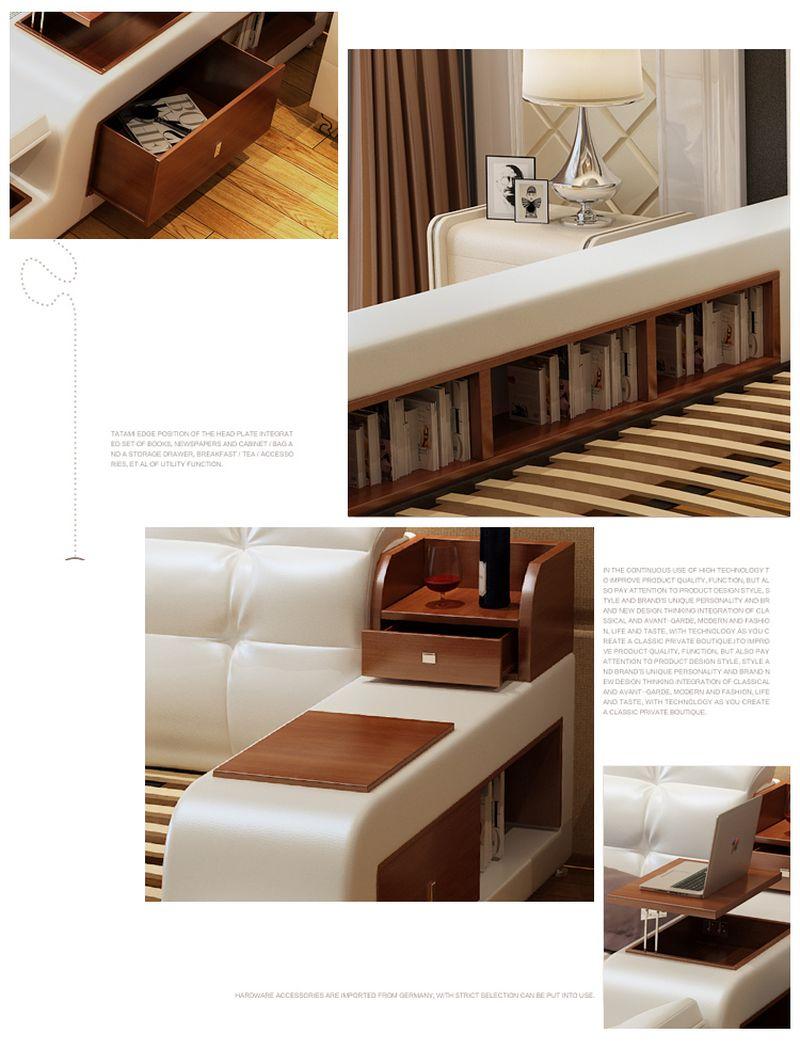 Giường tatami kiểu nhật hiện đại sang trọng đa năng GN001 4