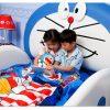 Giường trẻ em kiểu hoạt hình Doremon dễ thương GTE064 4