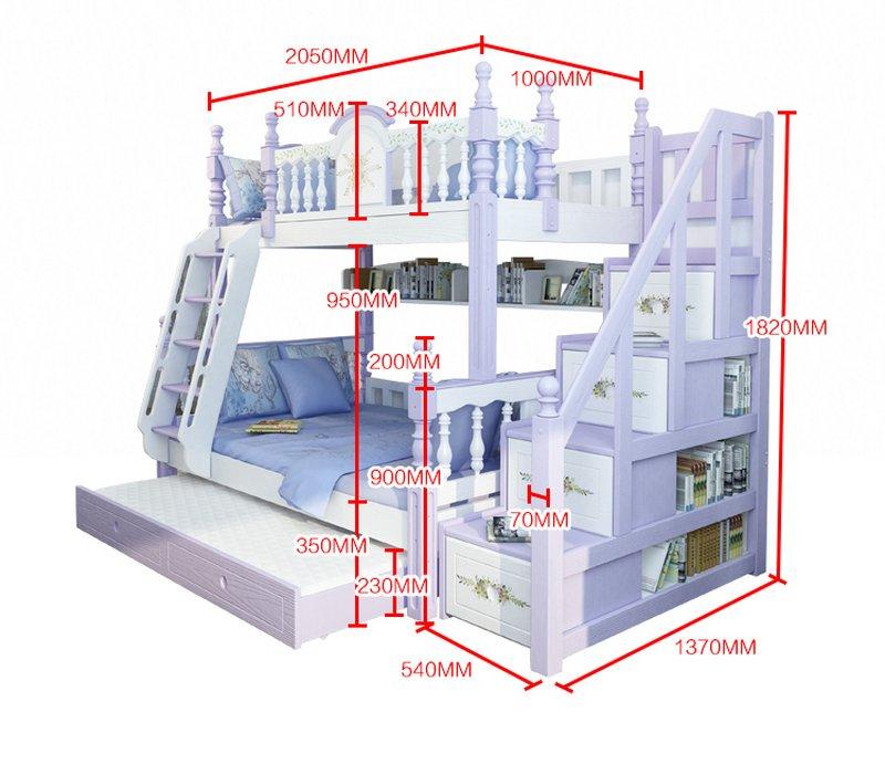 Giường tầng cao cấp trẻ em GTE053 8