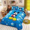 Set vỏ chăn ga gối hoạt hình Disney CGTE040 hình chuột Micky