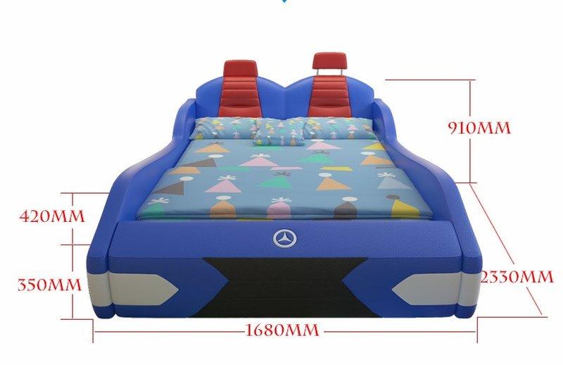 Kích thước phủ bì giường trẻ em GTE088 1m5 x 1m9
