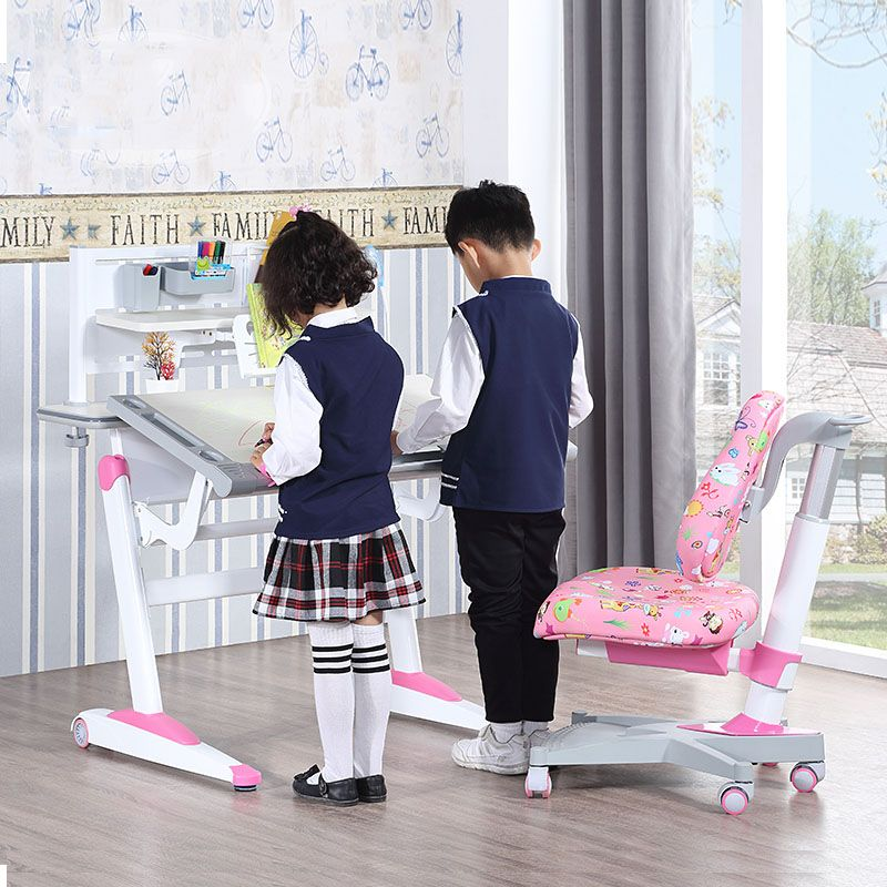 Bộ bàn ghế học thông minh cho bé hàng nhập khẩu BH201
