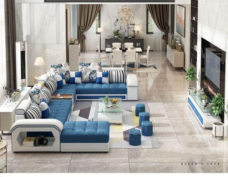 Bộ nội thất bàn ghế sofa hiện đại SF004