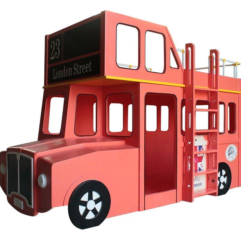 Giường tầng trẻ em kiểu dáng xe bus London GTE102