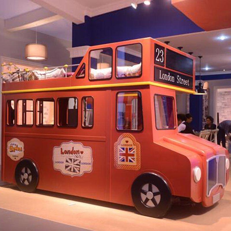 Giường tầng trẻ em kiểu dáng xe bus London GTE102 2