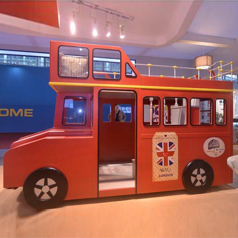 Giường tầng trẻ em kiểu dáng xe bus London GTE102 3