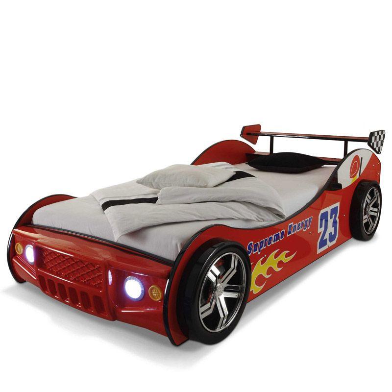 Giường xe đua F1 - nhập khẩu GTE098 màu đỏ