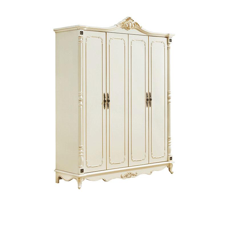 Tủ quần áo trẻ em cao cấp bằng gỗ TTE080 cánh cửa mở