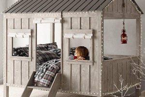 Giường ngủ hình ngôi nhà đẹp dành cho bé
