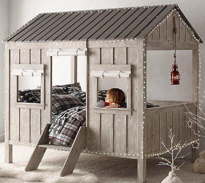 Mẫu giường cho trẻ hình ngôi nhà