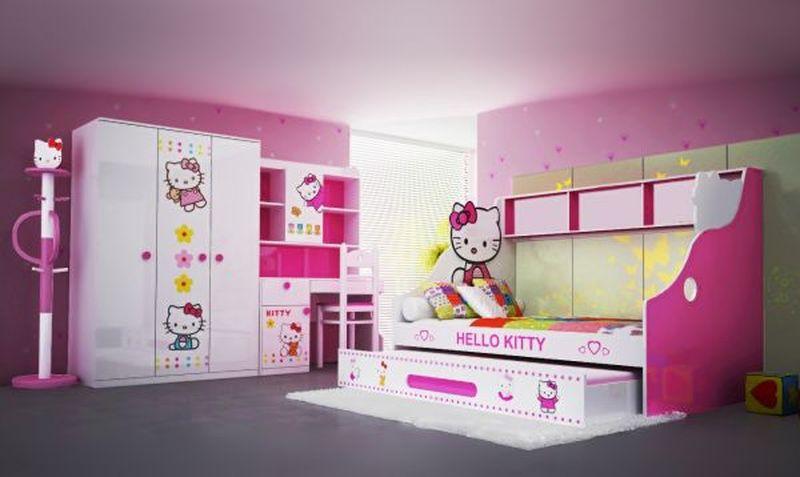 Trọn bộ nội thất in hình hello Kitty NTTE113