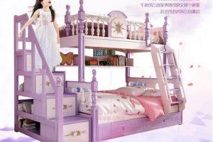 Giường tầng công chúa, giường gỗ công chúa đẹp