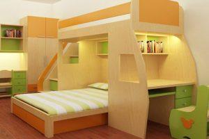giường tầng thông minh cho phòng chật hẹp