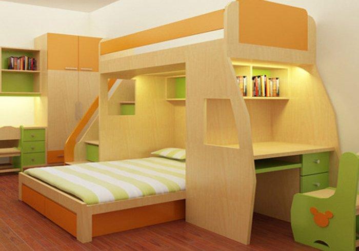 7 mẫu giường tầng thông minh cho phòng chật hẹp