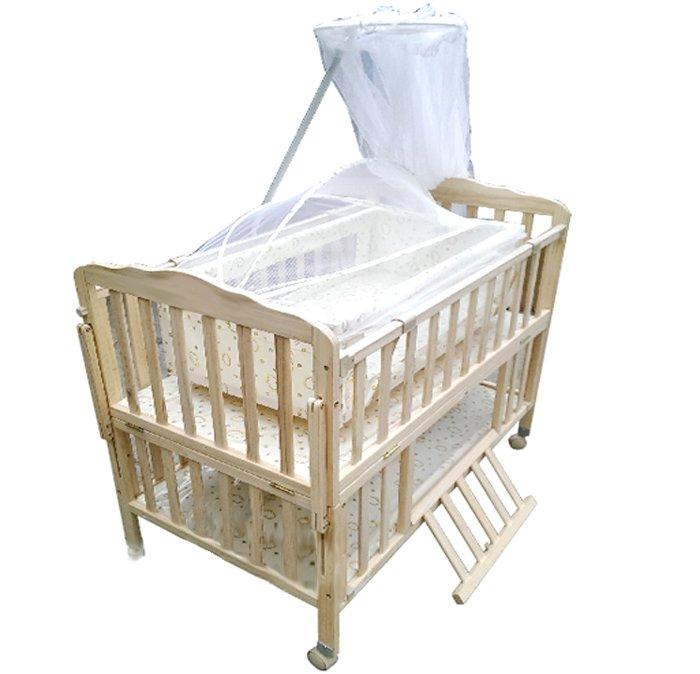 Giường cũi 3 trong 1 GoldCat Plus 70x110 dành cho trẻ sơ sinh