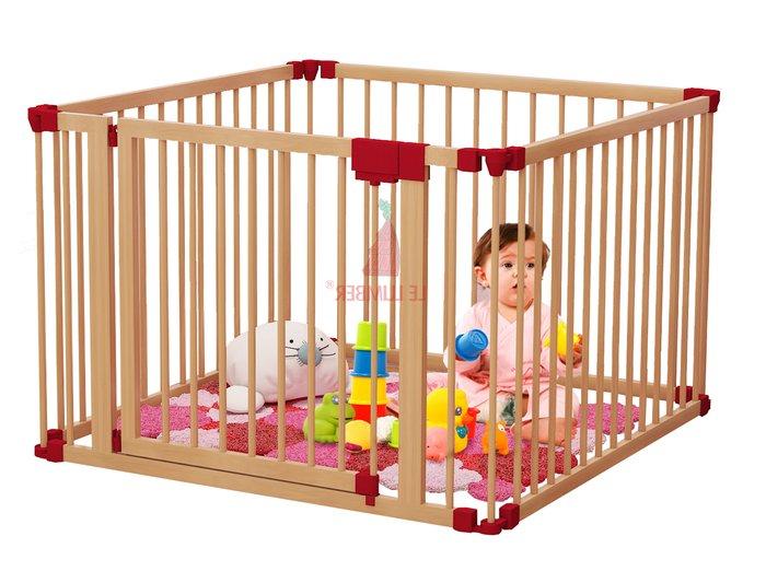 Cũi dành cho trẻ sơ sinh Playpen 3D 4 cánh
