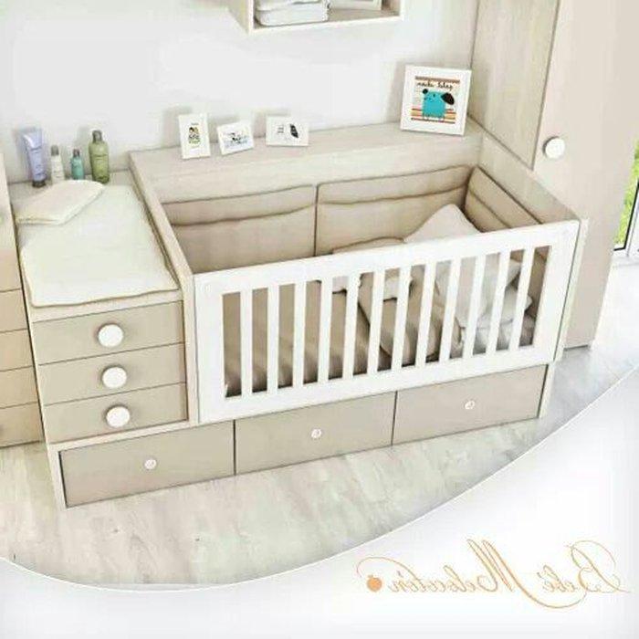 Giường cũi đa năng kết hợp với ngăn kéo