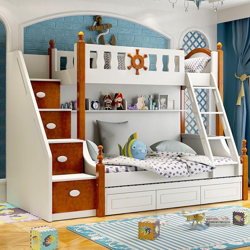 Giường tầng trẻ em kiểu dáng đa năng GTE076 3