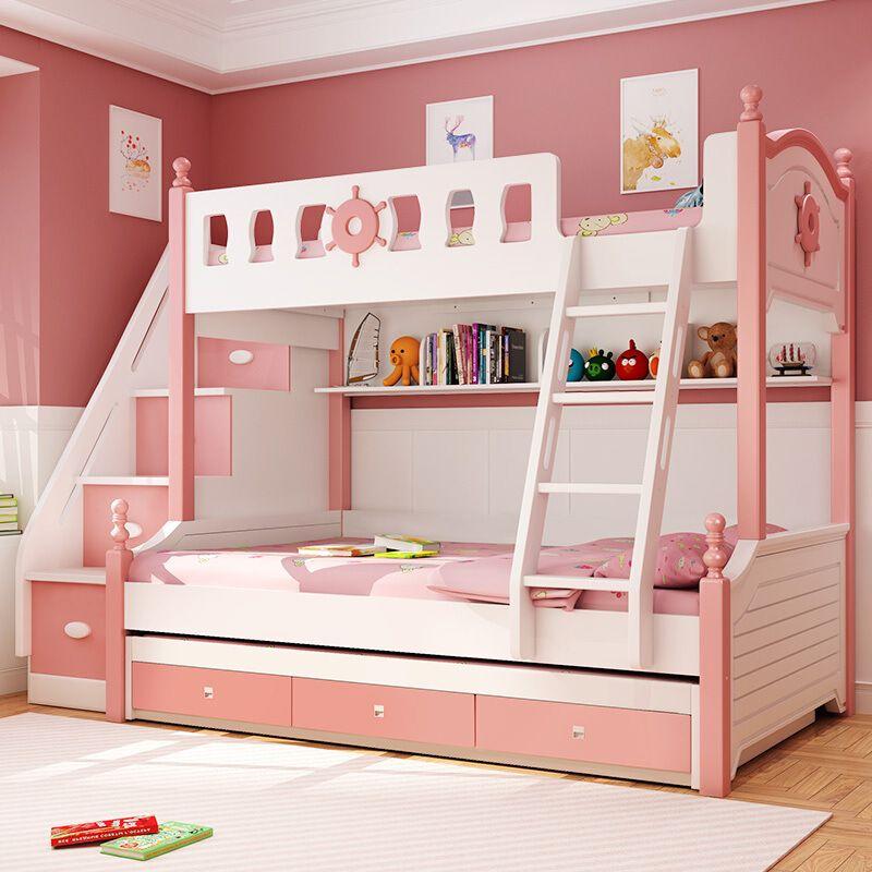 Giường tầng trẻ em kiểu dáng đa năng GTE076 4